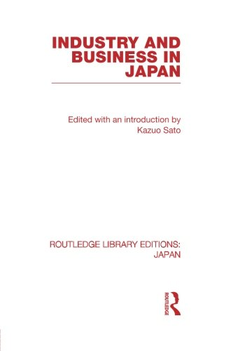 9780415845106: Industry and Business in Japan