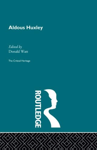 9780415848268: Aldous Huxley