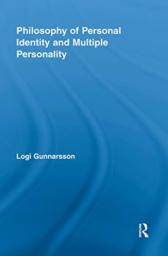 9780415849173: Philosophy of Personal Identity and Multiple Personality (Routledge Studies in Contemporary Philosophy)