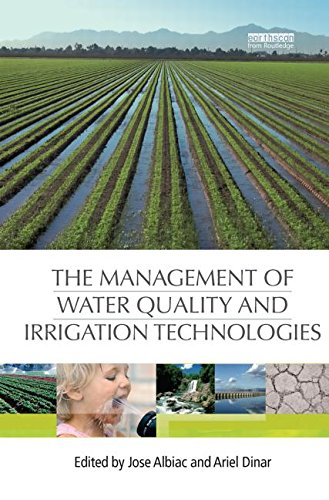 9780415849395: The Management of Water Quality and Irrigation Technologies