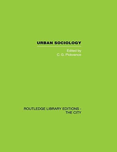 9780415851893: Urban Sociology: Critical Essays