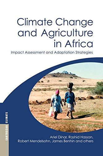 9780415852838: Climate Change and Agriculture in Africa: Impact Assessment and Adaptation Strategies (Earthscan Climate)
