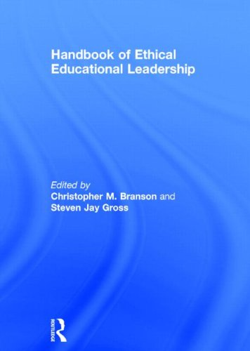 Handbook of Ethical Educational Leadership (Hardcover)
