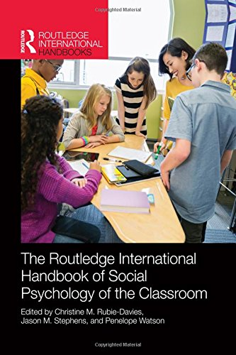 9780415856966: Routledge International Handbook of Social Psychology of the Classroom (Routledge International Handbooks)