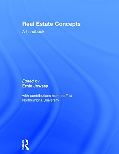 9780415857413: Real Estate Concepts: A Handbook