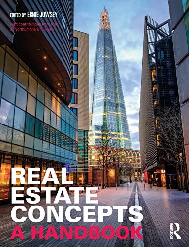 9780415857420: Real Estate Concepts: A Handbook