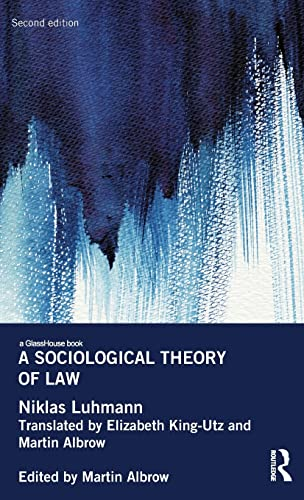9780415858960: A Sociological Theory of Law (Glasshouse Books)