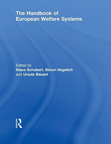 9780415860758: The Handbook of European Welfare Systems