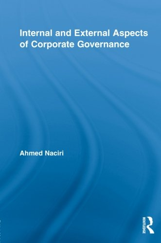 9780415860864: Internal and External Aspects of Corporate Governance (Routledge Studies in Corporate Governance)