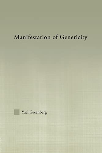 9780415861373: Manifestations of Genericity (Outstanding Dissertations in Linguistics)