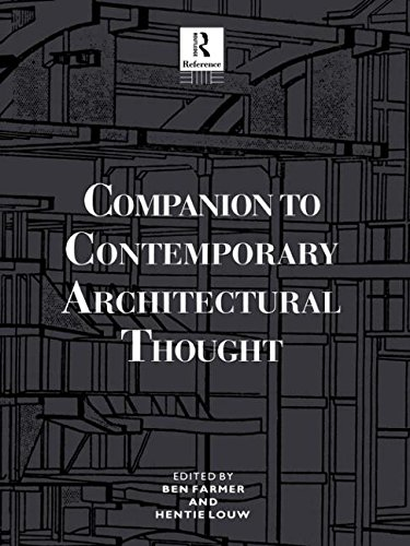 9780415861861: Companion to Contemporary Architectural Thought (Routledge Companion Encyclopedias)