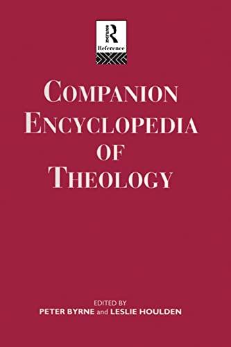 9780415862110: Companion Encyclopedia of Theology (Routledge Companion Encyclopedias)