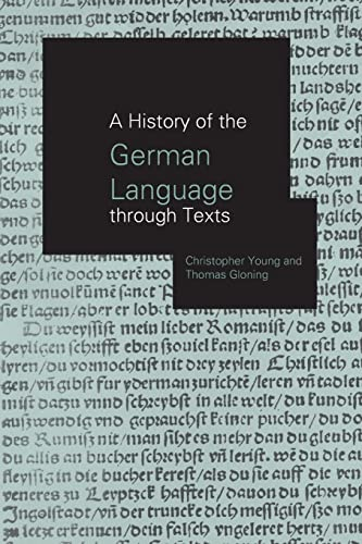 9780415862639: A History of the German Language Through Texts