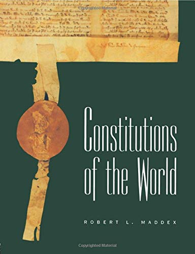 9780415863131: Constitutions of the World