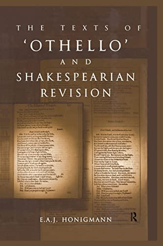 9780415865463: The Texts of Othello and Shakespearean Revision