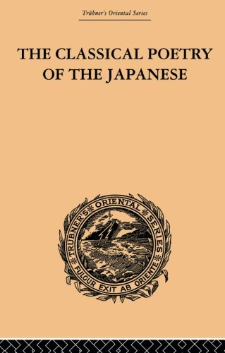 9780415865845: The Classical Poetry of the Japanese