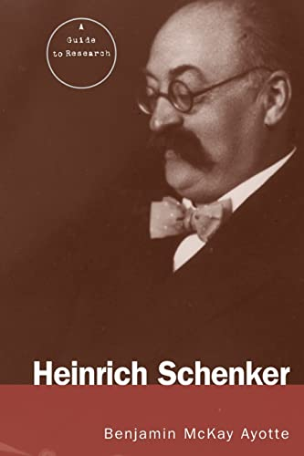 9780415867030: Heinrich Schenker: A Research and Information Guide