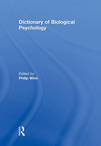 9780415867368: Dictionary of Biological Psychology
