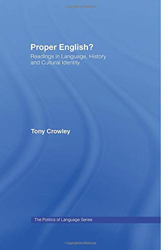 9780415867580: Proper English
