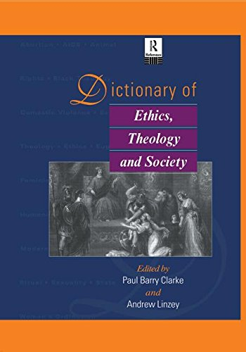 9780415867672: Dictionary of Ethics, Theology and Society