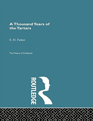 9780415868075: A Thousand Years of the Tartars