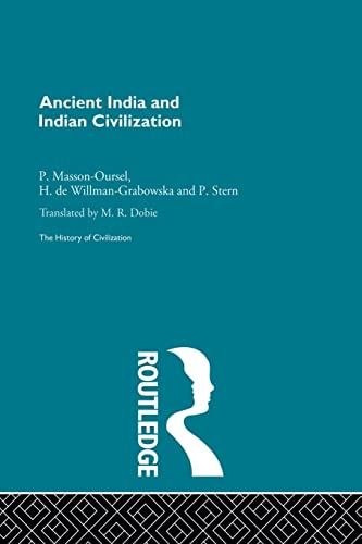 9780415868082: Ancient India and Indian Civilization (The History of Civilization)