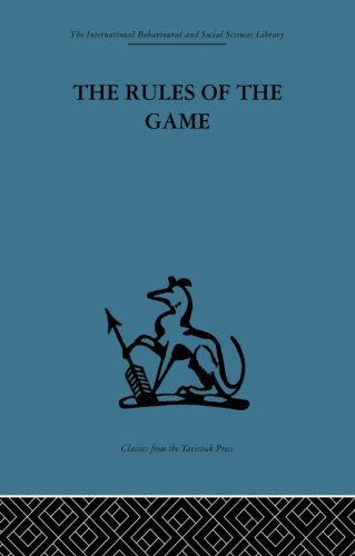 9780415869089: The Rules of the Game: Cross-disciplinary essays on models in scholarly thought