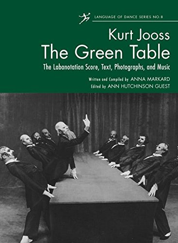 9780415869423: The Green Table: Labanotation, Music, History, and Photographs
