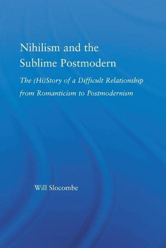 9780415869478: Nihilism and the Sublime Postmodern (Literary Criticism and Cultural Theory)