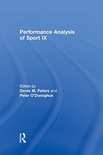 9780415870313: Performance Analysis of Sport IX
