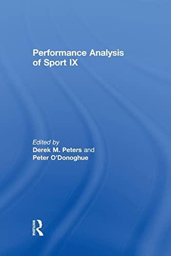 9780415870313: Performance Analysis of Sport IX