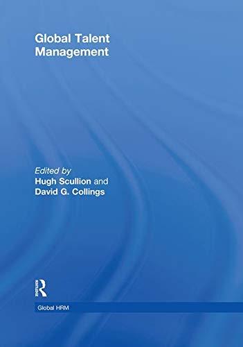 9780415871709: Global Talent Management (Global HRM)
