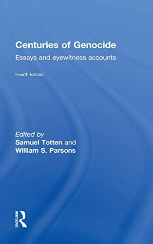 centuries of genocide essays and eyewitness stock image