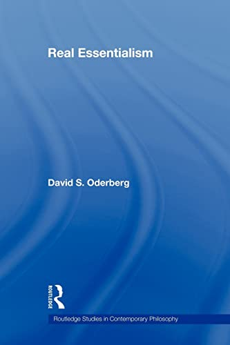 9780415872126: Real Essentialism (Routledge Studies in Contemporary Philosophy, Vol. 11)