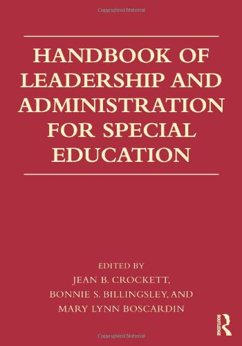 9780415872812: Handbook of Leadership and Administration for Special Education