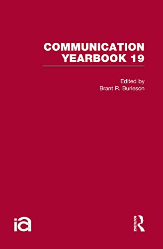 9780415873178: Communication Yearbook 19 (Volume 14)