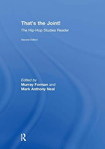9780415873253: That's the Joint!: The Hip-Hop Studies Reader