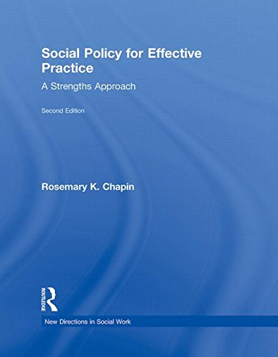 9780415873352: Social Policy for Effective Practice: A Strengths Approach
