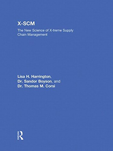 9780415873550: X-SCM: The New Science of X-treme Supply Chain Management