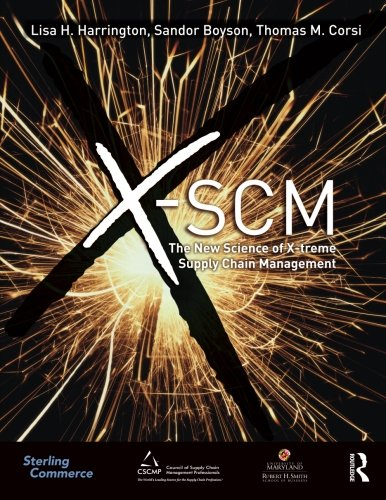 9780415873567: X-SCM: The New Science of X-treme Supply Chain Management