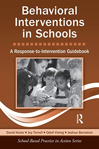 9780415875851: Behavioral Interventions in Schools: A Response-to-Intervention Guidebook (School-Based Practice in Action)