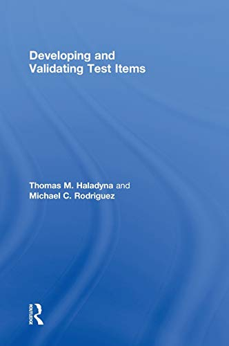 9780415876049: Developing and Validating Test Items