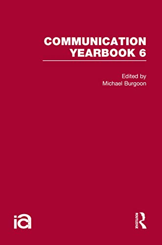 9780415876810: Communication Yearbook 6 (Volume 1)