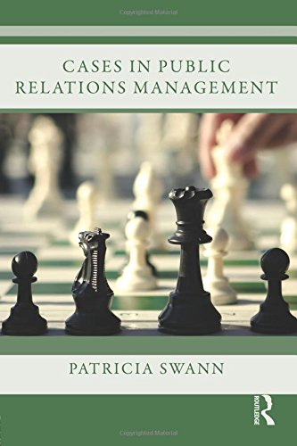 9780415878937: Cases in Public Relations Management