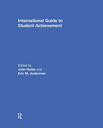 9780415878982: International Guide to Student Achievement (Educational Psychology Handbook)