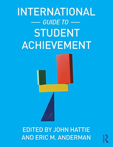 9780415879019: International Guide to Student Achievement (Educational Psychology Handbook)