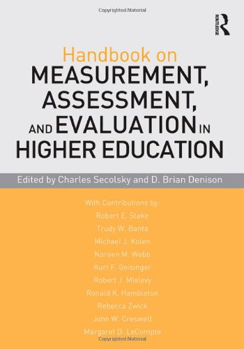9780415880756: Handbook on Measurement, Assessment, and Evaluation in Higher Education