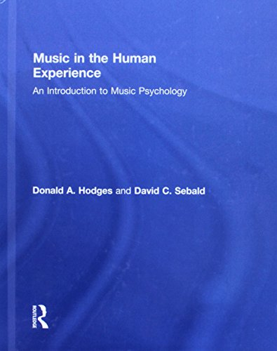 9780415881852: Music in the Human Experience: An Introduction to Music Psychology