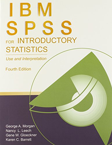 9780415882293: IBM SPSS for Introductory Statistics: Use and Interpretation, 4th Edition