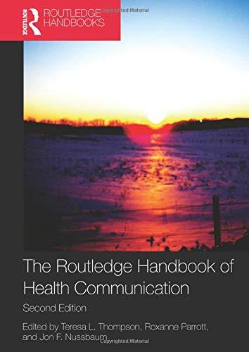 9780415883153: Lea Health Communication Course Pak: The Routledge Handbook of Health Communication